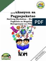 ESP6_Module1_Pagkilala sa Magaling at Matagumpay na Pilipino