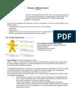 Psicopatologia - Varianza e Disforia Di Genere