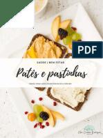 E-book - Patês e pastinhas