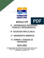 MODULO 5 ENFERM INFECCIOSAS, ED SALUD, AMBIENTAL Y VACUNACION 2019-2020