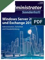 IT-Administrator Sonderheft - Windwos Server Und Exchange 2019