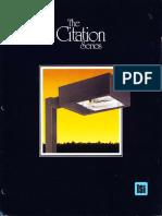 LSI Citation Series Brochure 1986