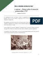 Guillermo Toro-Lira - Pisco, Limón y Azúcar – Datos Sobre La Mezcla Primordial 1737 (2020)
