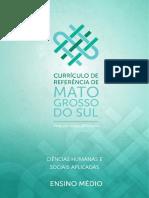 Organizador Curricular do MS de Ciencias Humanas e Sociais Aplicadas
