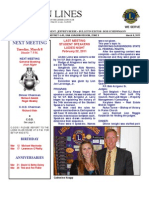 Newsletter - March 8 2011