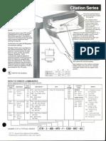 LSI Citation Series Spec Sheet 1990
