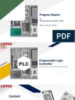 Progress Report 03-07-2019