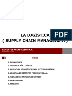LOGISTICA ( SUPPLY CHAIN MANAGEMENT)
