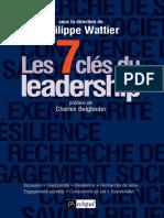 Les 7 Clés Du Leadership by Philippe Wattier (Z-lib.org)