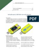 Portuguese-UM34(C) USB tester meter  Instruction   Android APP instruction- 2 in 1 -  2018.6.13  PT-PT
