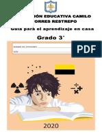 CARTILLA GRADO 3
