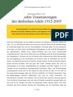 19.228 Gedruckte Todesanzeigen Deutscher
