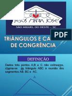 Casos de congruência de triângulos