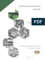 National Ecotourism Plan Malaysia Part 1