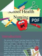 School Health Nursing- COPAR