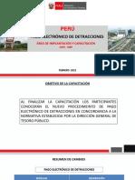 Pago Electrónico de Detracciones Ues Piloto 09022021