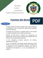 Fuentes Del Derecho - Trabajo Completo - Copia
