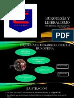 BURGUESÍA Y LIBERALISMO