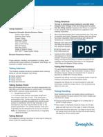 Tubing Data Sheet