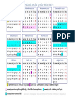 Calendarul Anului Scolar 2020 2021 1