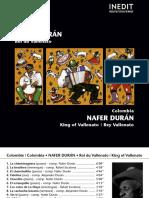 Nafer Duran rey vallenato