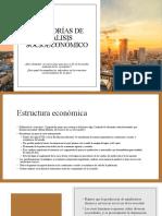 13 categorías análisis socioeconómico