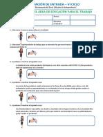 1ro y 2do Ept Evaluación Diagnostica Vi Ciclo