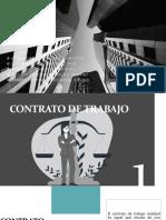 Contrato de Trabajo y Obligaciones Que Genera El Contrato de Trabajo
