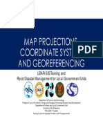 Map Projections Coordinates system geo referencing
