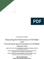 Public Accounts Committee - NI Water Report