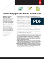 10 Cool Things You Can Do With Acrobat com
