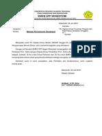 balasan surat sosialisasi dinas pertanian