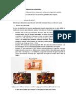 Control de inventarios de alimentos en restaurantes