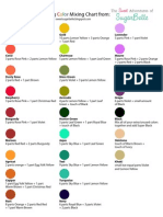 Original Color Chart {Printable Version}