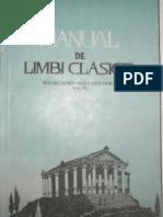 Manual de Limbi Clasice - GREACA