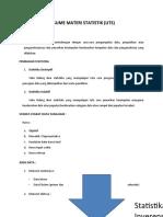 Statistik resume UTS