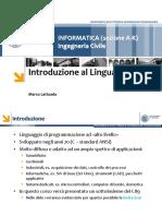 05 - Introduzione Al Linguaggio C (1)