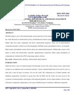 Antimicrobial, image analysis in M.jalapa