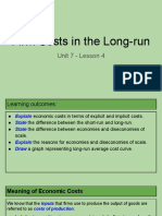 unit 7 - lesson 4 - firm costs in the long-run