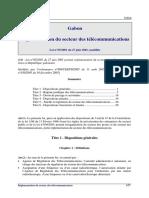 Gabon-Loi-2001-05-telecommunications-modifiee