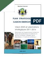 Plan Strategique Gabon Emergent