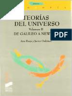 Rioja Ana Y Ordoñez Javier - Teorias Del Universo Vol II - De Galileo A Newton