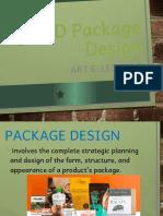 Art 6 Lesson 2 3D Package Design