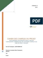CAHIER DE CHARGE SUIVI DES COMMERCIAUX