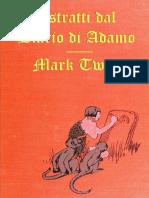 Mark Twain Estratti Dal Diario Di Adamo