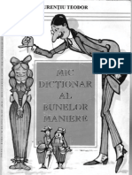 Mic dictionar al bunelor maniere