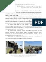 Rolul Meteorologiei in Invatamantul Preuniversitar