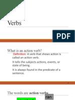 Verbs & Adverb