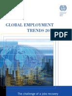 GLOBAL EMPLOYMENT trend 2011