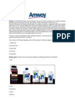 AMWAY Report